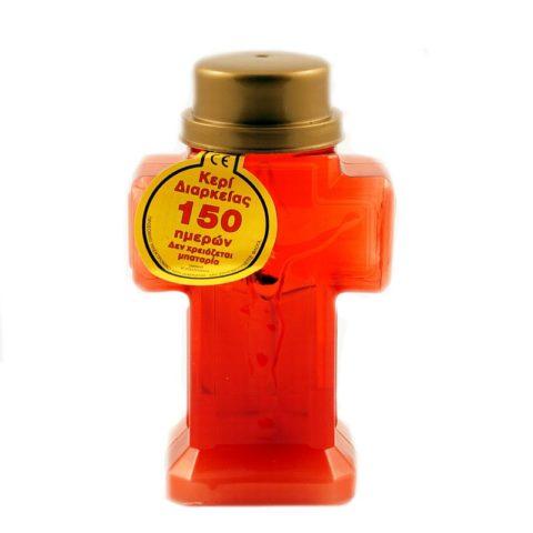 Ηλεκτρικό Κερί σε Κόκκινη Συσκευασία 12,5 x 2 cm