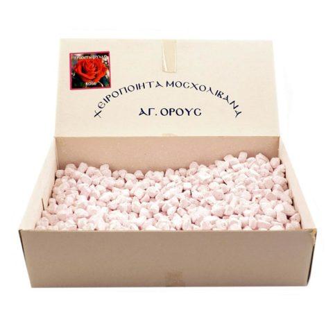 """Μοσχολίβανο Άγιου Όρους Κουτί """"Τριαντάφυλλο"""""""